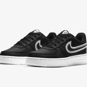 New Nike Air Force 1 Lv8 1 Black Sneaker Size 5Y
